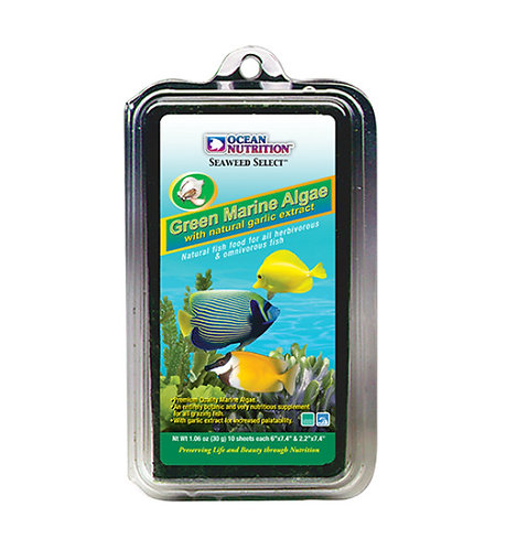 Ocean Nutrition Seaweed Select Green Marine Algae Sheets