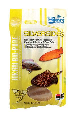 Hikari Silversides Frozen Fish Food 4oz