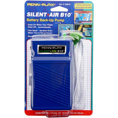 Penn-Plax Silent Battery Air Pump B10