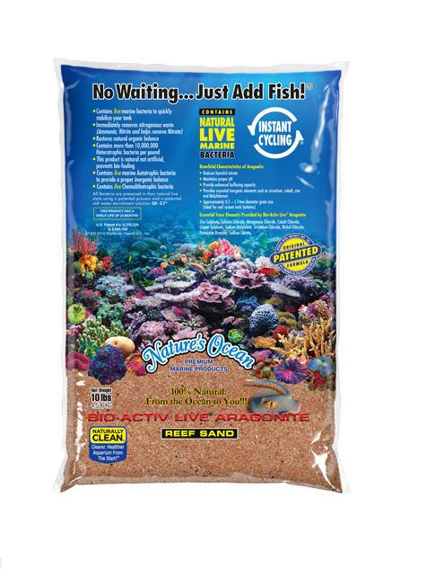 Nature's Ocean Bio-Activ Live Reef Sand - Australian Gold