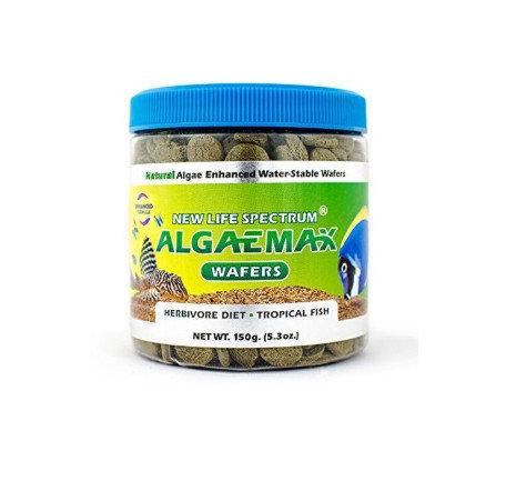 New Life Spectrum AlgaeMax Herbivore Diet Wafers