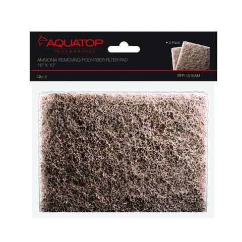 "AquaTop Ammonia Removal Filter Pad 18""x10"""