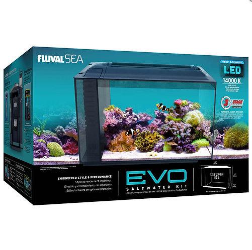 Fluval Sea EVO 13.5 Gallon Saltwater Aquarium Kit