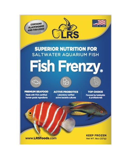LRS Fish Frenzy Frozen Fish Food 8oz