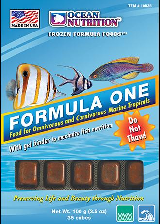 Ocean Nutrition Formula One Frozen Fish Food