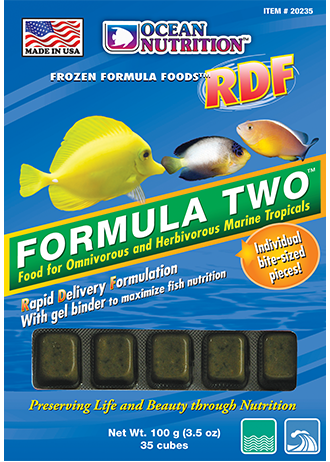 Ocean Nutrition Frozen Formula Two RDF Food
