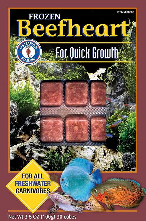 San Francisco Bay Brand Beefheart Frozen Fish Food