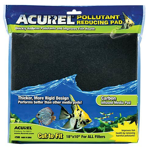"Acurel Carbon Reducing Infused Media Pad 10x18"""