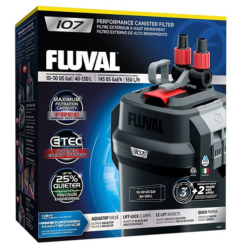 Fluval 107 Performance External Canister Filter