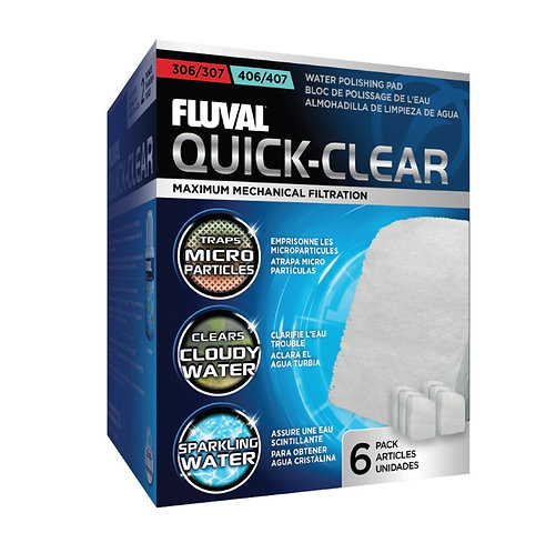 Fluval 106/206/107/207 Quick Clear Ultra Fine Pads