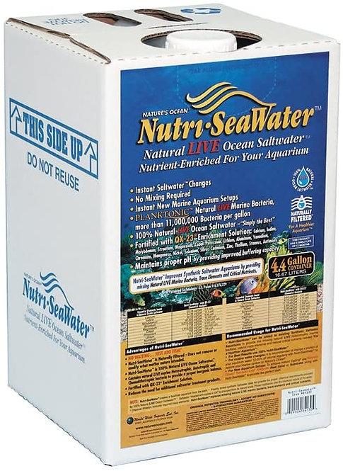 Nature's Ocean Nutri-SeaWater Natural Live Ocean Aquarium Saltwater