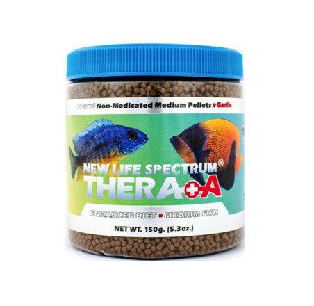New Life Spectrum NLS Naturox Thera A+ Garlic MEDIUM Pellet Food 150g