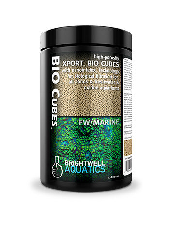 Brightwell Aquatics Xport BIO Cubes Biological Filtration Media