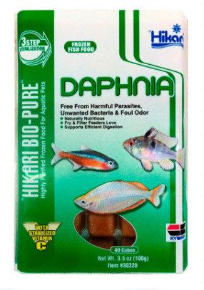 Hikari Daphnia Frozen Fish Food 3.5 oz Cube