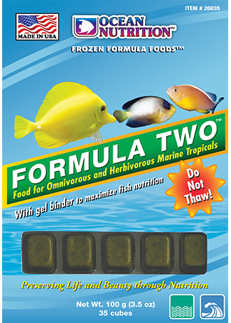 Ocean Nutrition Formula Two Frozen Fish Food