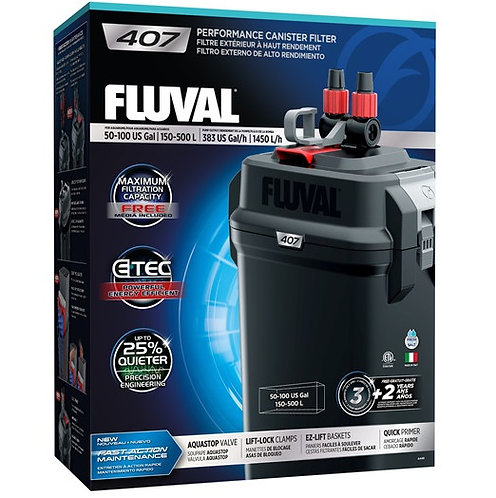 Fluval 407 Performance External Canister Filter