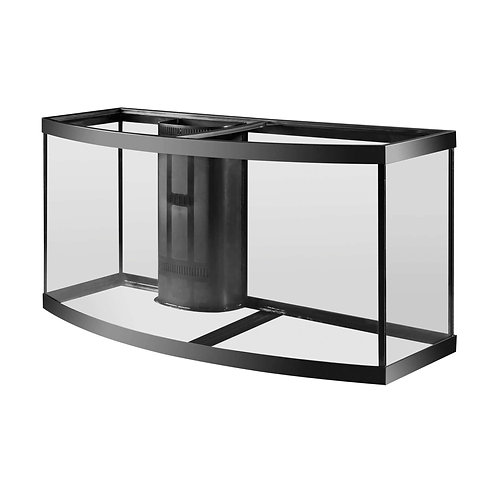 Aqueon 72 Gallon Reef-Ready Bow Front Tank with Megaflow