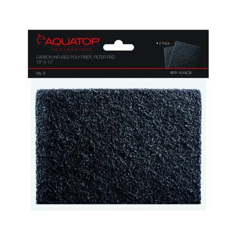 "AquaTop Carbon Infused Filter Pad 18""x10"""