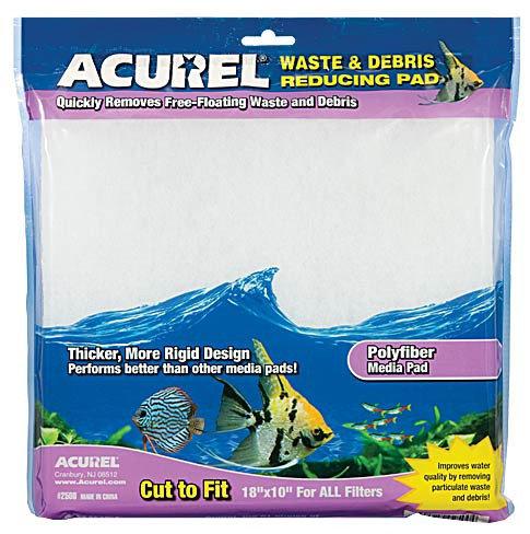 "Acurel Polyfiber Waste Reducing Infused Media Pad 10x18"""