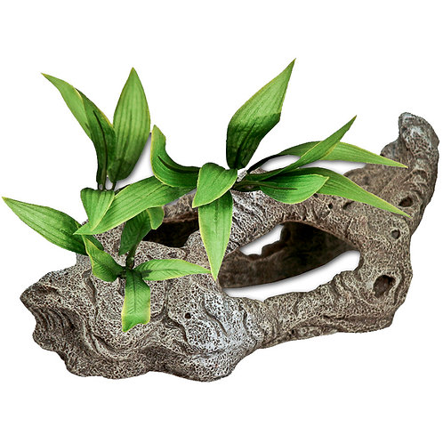 Blue Ribbon Pet Products Exotic Environments Rock Tunnels/Plant Decoration