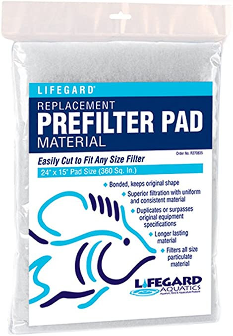 Lifegard Aquatics Pre-Filter Pad 24x15""