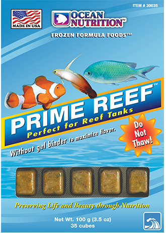 Ocean Nutrition Prime Reef Frozen Fish Food