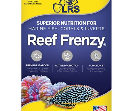 LRS Reef Frenzy Frozen Fish Food 8oz