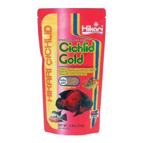 Hikari Cichlid Gold Floating Baby Pellet 8.8oz