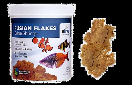 eLive Fusion Brine Shrimp Fish Food Flakes