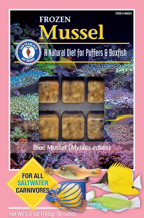 San Francisco Brand Mussel Frozen Fish Food
