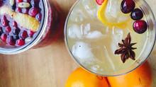 Cranberry Orange Tonic Syrup