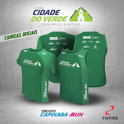 Camisa etapa Corrida Cidade do Verde 2019