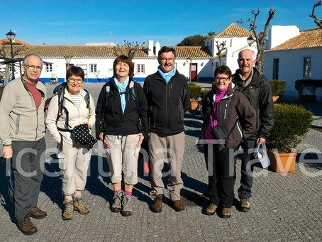 Hiking Rota Vicentina in French!