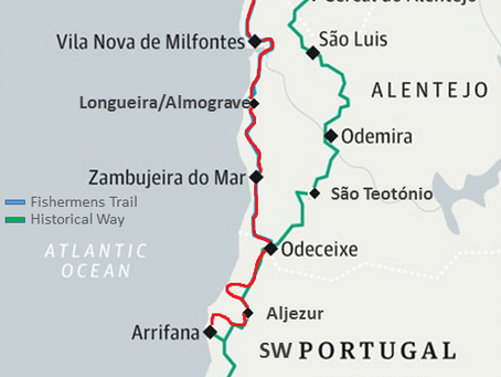 Discovering the Alentejo & Algarve South West Coast Self-guided walking holiday in Portugal