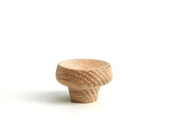 Cork. knob/hook. small - oak