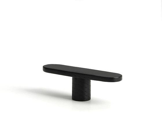 Band. knob/hook. large - black