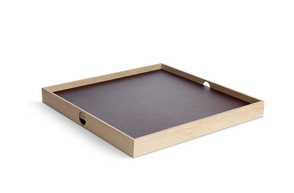 Flip Tray - medium, burgundy/chmpagne