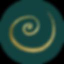 Gold Spiral Black Circle Dark Green.png