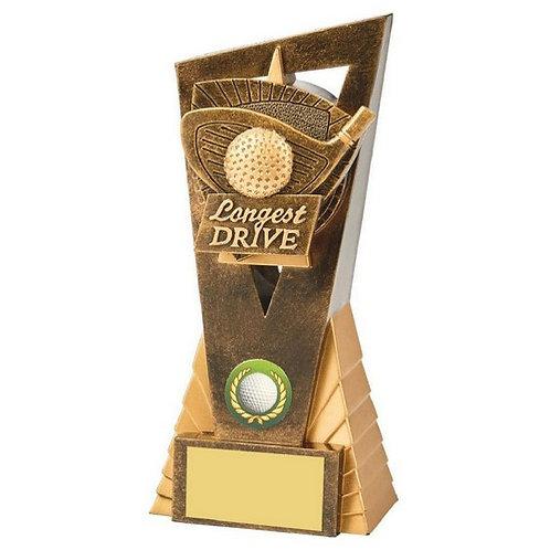 Antique Gold Longest Drive Edge Award - 180mm