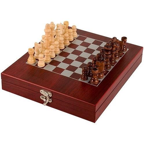 Rosewood Finish Chess Set | Free Engraving