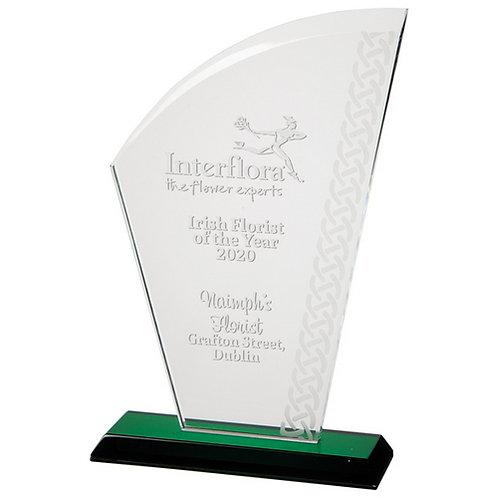 Avenger Celtic Crystal Award - 200mm
