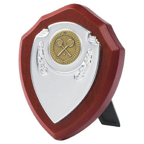 Chrome Fronted Shield  - 100mm