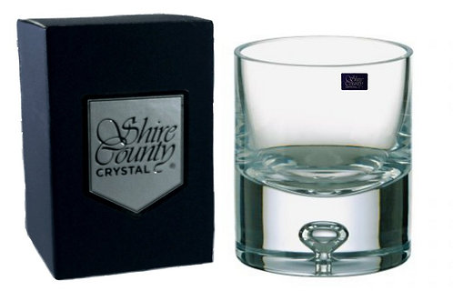 Shire County Crystal Dartmouth | Old Fashioned Tumbler 20cl | Gift Carton