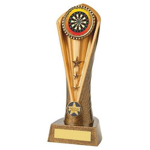 Antique Gold Darts Cobra Trophy - 230mm