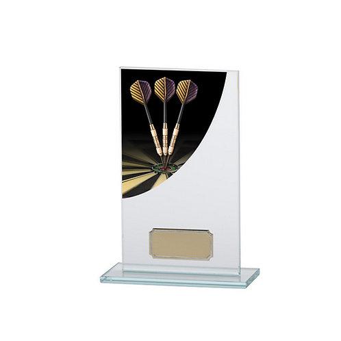 Colour Curve Darts Jade Glass Award - 160mm
