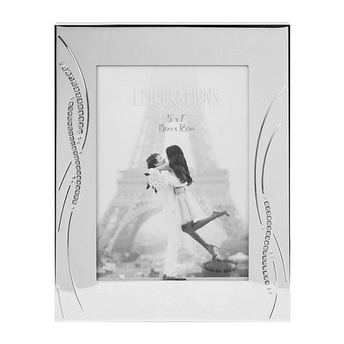 "Crystal Reed Photo Frame | 5"" x 7""  | Free Engraving"