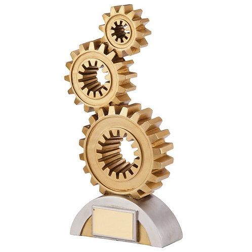 Clockwork Cogs Achievement Award - 175mm
