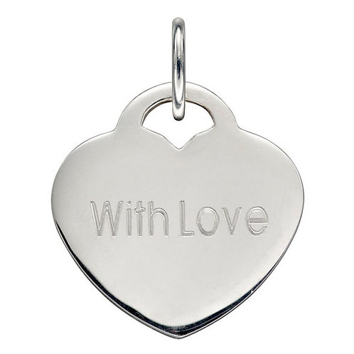 Heart Pendant   Excludes chain