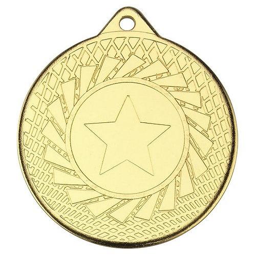 Blade Medal - Gold  - 50 mm