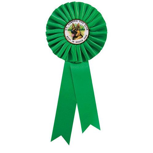 Champion Rosette Green - 300mm
